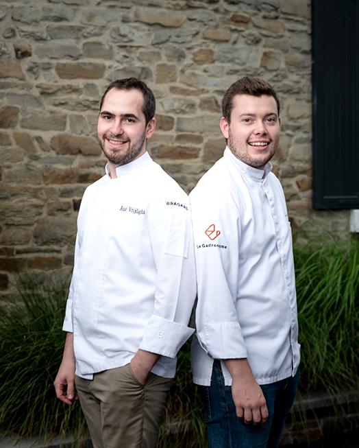 Image The duo: Jean Vrijdaghs & Sébastien Hankard